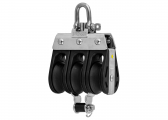 S Block with Swivel and Becket / 8 mm / plain bearing