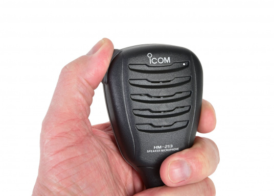 Lautsprecher-Mikrofon HM-213 für IC-M25EURO.   (Bild 4 von 4)