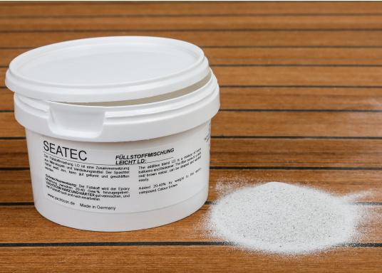 Zusammensetzung aus Mikrokugeln und Verdickungsmittel. Der Spachtel härtet weiß aus, kann gut geformt und geschliffen werden.Inhalt: 25 g.