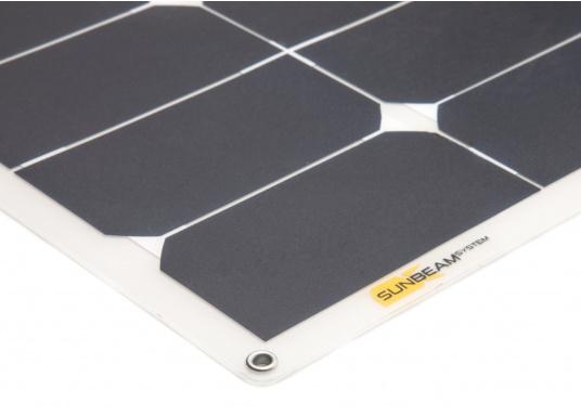 Die flexiblen und widerstandsfähigen Solarmodule der SUNBEAMSYSTEM CLASSIC Serie überzeugen mit hoher Effizienz bei kompakten Abmessungen und geringem Gewicht. Ideal für die rauen Bedingungen in nördlichen Breiten geeignet. (Bild 2 von 7)