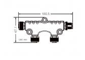 Répartiteur 2 sorties NMEA2000 / Micro-C
