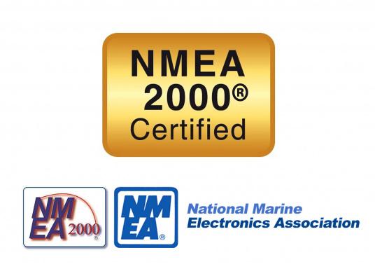 Praktisches NMEA2000 Netzwerkkabel mit 90° Anschluss für beengte Platzverhältnisse. (Bild 2 von 2)