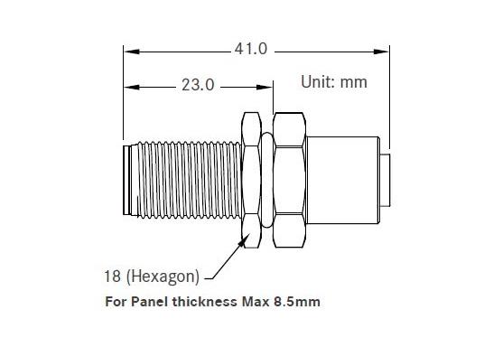 Passe-câble pour câbles de réseau NMEA 2000. (Image 5 de 5)