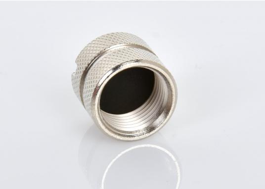 Passende Blindkappe (männlich) aus Metall für das NMEA2000 Netzwerk. (Bild 2 von 3)