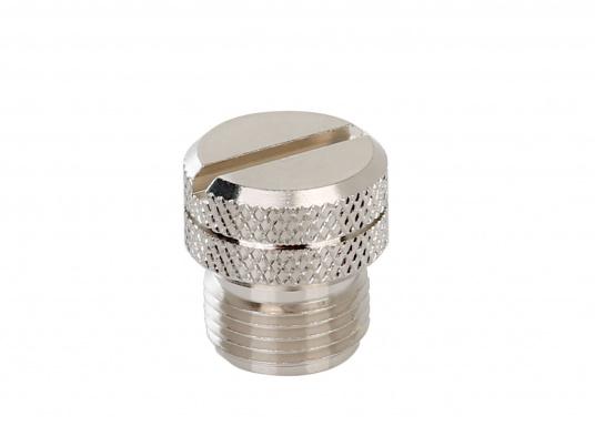Passende Blindkappe (weiblich) aus Metall für das NMEA2000 Netzwerk.