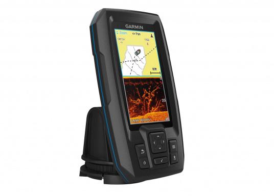 """Die neue STRIKER Plus Serie von Garmin überzeugt mit nicht zu überbietenden Aufzeichnungen und integriertem GPS. So können Sie Ihre Lieblingsspots zum Angeln oder andere Wegpunkte markieren um problemlos den Weg dorthin zurückzufinden.Der STRIKER Plus 4 verfügt über ein wasserdichtes 4,3"""" Display und wird inkl. Garmin Dual-Beam Geber geliefert."""