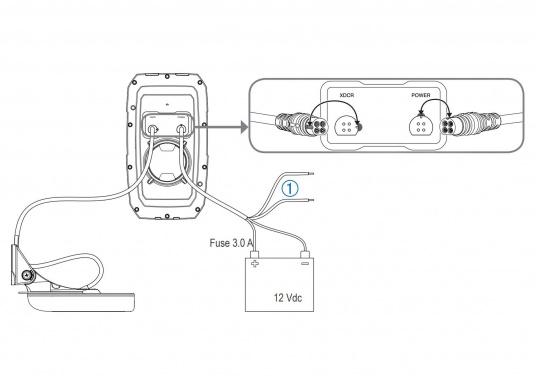 """Die neue STRIKER Plus Serie von Garmin überzeugt mit nicht zu überbietenden Aufzeichnungen und integriertem GPS. So können Sie Ihre Lieblingsspots zum Angeln oder andere Wegpunkte markieren um problemlos den Weg dorthin zurückzufinden.Der STRIKER Plus 4 verfügt über ein wasserdichtes 4,3"""" Display und wird inkl. Garmin Dual-Beam Geber geliefert. (Bild 3 von 4)"""