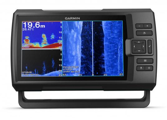 """Die neue STRIKER Plus Serie von Garmin überzeugt mit nicht zu überbietenden Aufzeichnungen und integriertem GPS. So können Sie Ihre Lieblingsspots zum Angeln oder andere Wegpunkte markieren um problemlos den Weg dorthin zurückzufinden.Der STRIKER Plus 9sv verfügt über ein wasserdichtes 9"""" Display und wird inkl. GT52HW-TM Geber geliefert. (Bild 3 von 7)"""