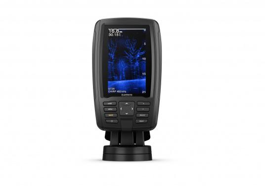 """Mit der neuen EchoMAP Plus-Serie von Garmin erhalten Sie hochauflösende Darstellungen der unmittelbaren Unterwasserwelt in Kombination mit einem Kartenplotter. Der EchoMAP Plus 42cv verfügt über ein wasserdichtes 4,2"""" Display und wird inkl. GT20-TM Geber geliefert. (Bild 9 von 13)"""