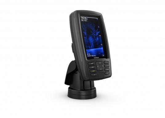 """Mit der neuen EchoMAP Plus-Serie von Garmin erhalten Sie hochauflösende Darstellungen der unmittelbaren Unterwasserwelt in Kombination mit einem Kartenplotter. Der EchoMAP Plus 42cv verfügt über ein wasserdichtes 4,2"""" Display und wird inkl. GT20-TM Geber geliefert. (Bild 8 von 13)"""