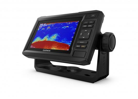 """Mit der neuen EchoMAP Plus-Serie von Garmin erhalten Sie hochauflösende Darstellungen der unmittelbaren Unterwasserwelt in Kombination mit einem Kartenplotter. Der EchoMAP Plus 62cv verfügt über ein wasserdichtes 6"""" Display und wird inkl. GT20-TM Geber geliefert. (Bild 13 von 13)"""