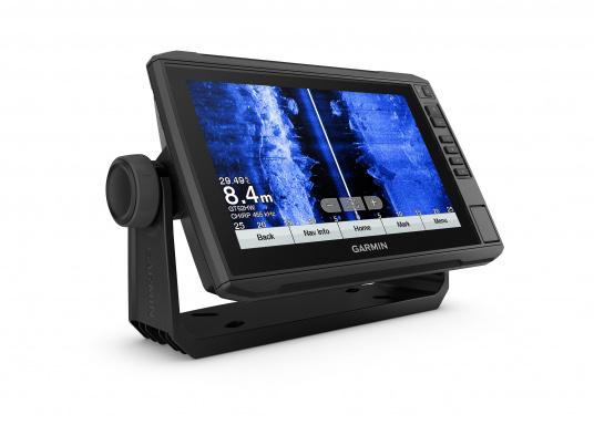 """Mit der neuen EchoMAP Plus-Serie von Garmin erhalten Sie hochauflösende Darstellungen der unmittelbaren Unterwasserwelt in Kombination mit einem Kartenplotter. Der EchoMAP Plus 92sv verfügt über ein wasserdichtes 9"""" Display und wird inkl. GT52HW-TM Geber geliefert. (Bild 11 von 13)"""