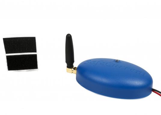 Beim SafeCurrent handelt es sich um einen kleinen Batterie-Monitor, der direkt an die Batterie angeschlossen wird. Mithilfe der integrierten SIM-Karte werden alle vier Stunden aktualisierte Meldungen mit Informationen zur Batteriespannung, zur Temperatur und zu der ungefähren Position des Fahrzeuges ausgesendet. (Bild 2 von 3)