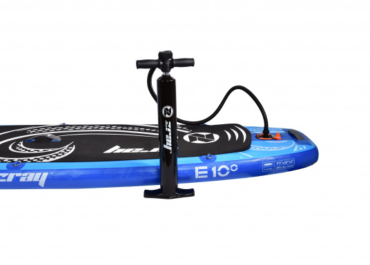 This inflatable SUP provides endless fun on the water and is suitable for the entire family. (Image 2 of 6)