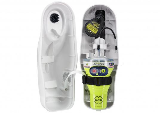 Neuentwickelte Seenotfunkboje (EPIRB) mit leistungsfähiger Elektronik, auf die Sie sich jederzeit zu 100 % verlassen können. Mit der Epirb GlobalFIX V4 von ACR steigern Sie Ihre Sicherheit auf See und erhöhen die Überlebenswahrscheinlichkeit im Notfall.