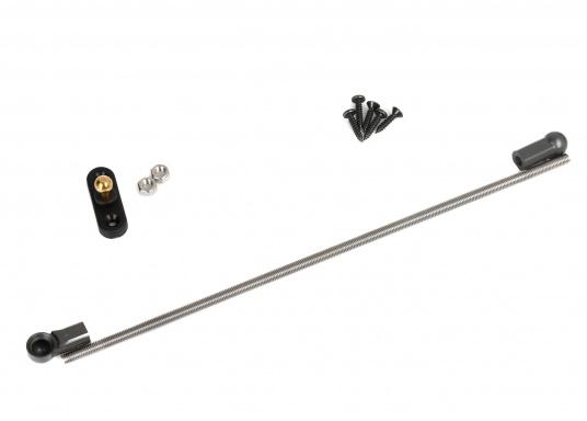 Für ein besseres Ruderverhalten und Boote mit Hydrauliksteuerung ist die Montage des RAYMARINE Ruderlagenrückmelders zu empfehlen. Inklusive 9,5 m Kabel. (Bild 3 von 3)