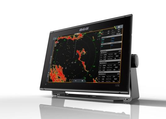"""Packed with innovation and award-winning sailing features, the new B&G Vulcan multifunction display series is a must-have for every sailor. The Vulcan 12R features a 12"""" multi-touch display, built-in GPS and WiFi, excellent sonar technologies and radar compatibility. Transducer is not included. (Image 3 of 15)"""