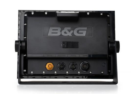 """Packed with innovation and award-winning sailing features, the new B&G Vulcan multifunction display series is a must-have for every sailor. The Vulcan 12R features a 12"""" multi-touch display, built-in GPS and WiFi, excellent sonar technologies and radar compatibility. Transducer is not included. (Image 13 of 15)"""