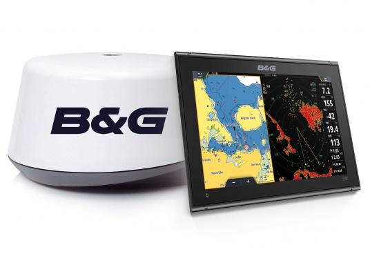 """Vollgepackt mit Innovationen und preisgekrönten Segelfunktionen ist die neue Serie des Vulcan-Multifunktionsdisplays von B&G ein Muss für jeden Segler. Der Vulcan 12R verfügt über ein 12"""" großes Multi-Touch-Display, integriertem GPS und WiFi, ausgezeichneten Sonar-Technologien und einer Radar-Kompatibilität. Lieferung inklusive 3G Broadband-Radar."""