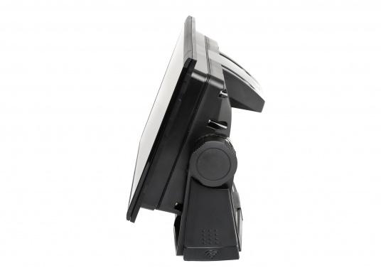 """Das neue 7"""" Kartenplotter-Navigationsdisplay GO7 XSR von Simrad bietet Ihnen eine Reihe von neuen Technologien. Durch einen integrierten GPS-Empfänger, drahtloser Konnektivität über WIFi, eine Vielzahl an Anschlussmöglichkeiten über das NMEA2000 Netzwerksystem und der Plug-and-Play Radarkompatibilität wird das Navigieren auch bei schlechten Bedingungen leicht gemacht. Lieferung inklusive TotalScan-Geber. (Bild 5 von 13)"""