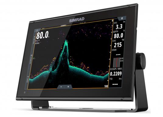 """Das neue 12"""" Kartenplotter-Navigationsdisplay GO12 XSEvon Simradbietet Ihnen eine Reihe von neuen Technologien. Durch einen integrierten GPS-Empfänger, drahtloser Konnektivität über WIFi,eine Vielzahl anAnschlussmöglichkeiten über das NMEA2000 Netzwerksystem und der Plug-and-Play Radarkompatibilität wird das Navigieren auch bei schlechten Bedingungen leicht gemacht."""