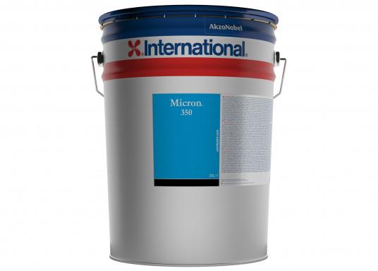 Der Nachfolger der bewährten Antifoulings MICRON EXTRA EU / WA / 77 von INTERNATIONAL. MICRON 350 ist ein leistungsstarkes, selbstpolierendes Antifouling, das dank der Polierwirkung für bis zu zwei Jahre einen effektiven Schutz vor Bewuchs bietet.