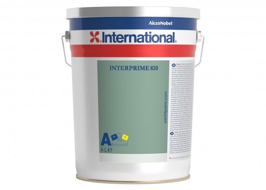 Interprime 820 ist eine 2-Komponenten-Epoxidgrundierung. Mit inaktiven Pigmenten, Additiven und Korrosionsschutz ist sie für die Verwendung auf einer Reihe von Untergründen, wie zum Beispiel Stahl und Aluminium, über und unter der Wasserlinie geeignet.