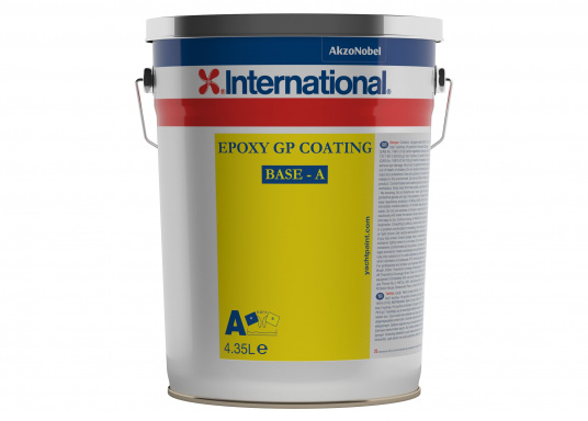 Epoxy GP Coating is an excellent primer for pre-treated steel, aluminum, plywood and molded constructions. It can be finished by airless spraying, brush, roller or conventional sprayers with two-component products.