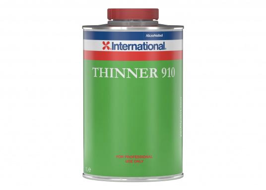 Verdünnung Nr.910 dient als schnelle Spritzverdünnung und Gerätereiniger für PERFECTION Vorstreich- und Lackfarbe. Inhalt: 5 Liter.