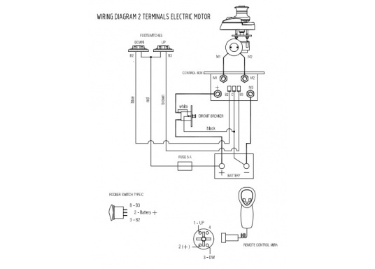 4 pole relay wiring diagram lofrans relay box for anchor winches 2 4 pole only 88 69     buy  lofrans relay box for anchor winches
