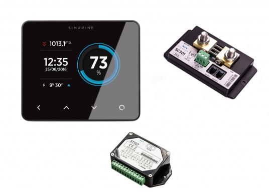 Das PICO Standard Paket bietet Ihnen ein komplettes Überwachungssystem Ihrer 12 / 24 Volt Batterie.Die vielen Anschlussmöglichkeiten und die Benutzerfreundlichkeit bietet Ihnen einen einfachen Überblick über alle wichtigen Informationen Ihrer Batterie und zusätzlich auch über Tankfüllstände und Temperaturen.