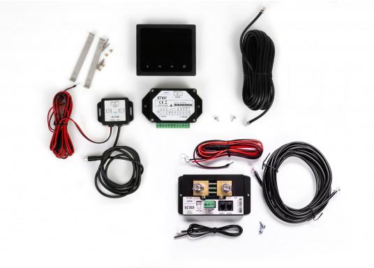 Das PICO Standard Paket bietet Ihnen ein komplettes Überwachungssystem Ihrer 12 / 24 Volt Batterie.Die vielen Anschlussmöglichkeiten und die Benutzerfreundlichkeit bietet Ihnen einen einfachen Überblick über alle wichtigen Informationen Ihrer Batterie und zusätzlich auch über Tankfüllstände und Temperaturen. (Bild 12 von 12)