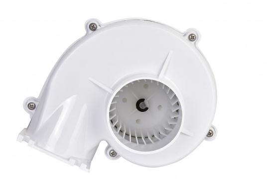 Dieser leistungsstarke Elektrolüfter ist besonders gut für Pantry, WC und Motorraum geeignet. Mit schlagfestem Anti-Schock ABS Kunststoffgehäuse. Der Lüfter kann stehend oder hängend angebracht werden und ist in jede Richtung verstellbar.