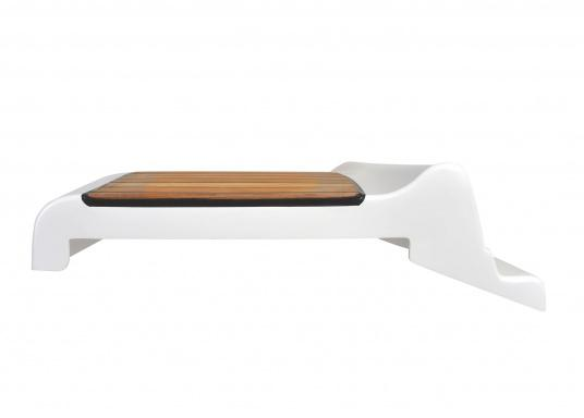 Original helmsman seat with teak covering suitable for your Bavaria Cruiser 39. (Image 2 of 3)