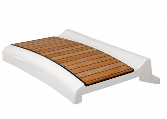 Original helmsman seat with teak covering suitable for your Bavaria Cruiser 39.