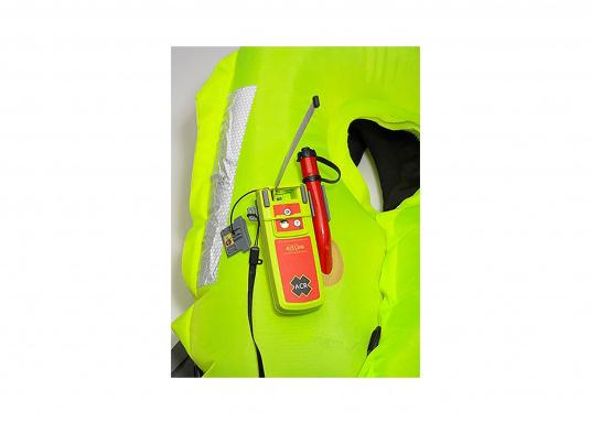 Der Notsender AISLink von ACR verfügt über eine integrierte DSC-, AIS- und GPS-Technologie, sodass Sie schnellstmöglich Hilfe anfordern können, wenn Sie diese am dringendsten benötigen. (Bild 10 von 10)
