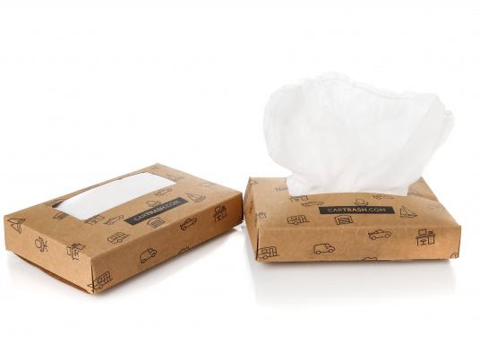 Sacchi per immondizia per il cestino mobile FLEXTRASH. Volume: 9 litri. Contenuto: 20 pezzi. (Immagine 2 di 5)