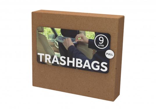 Sacchi per immondizia per il cestino mobile FLEXTRASH. Volume: 9 litri. Contenuto: 20 pezzi.
