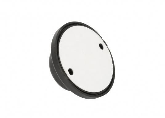 Supporto a parete, adatto per il cestino mobile FLEXTRASH. Il supporto può essere fissato sia con il dischetto adesivo, che con le due viti in dotazione.  (Immagine 3 di 4)