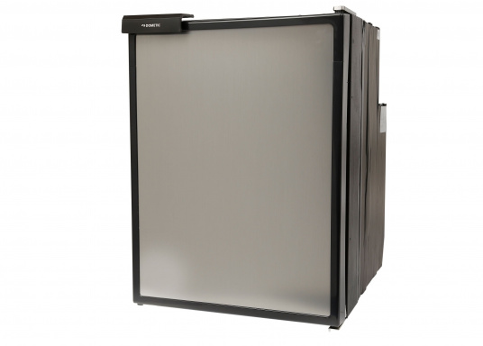 Innovative Compressor Refrigerator CRE-50 from DOMETIC. 2-in-1 solution with removable freezing compartment, which allows for more space if needed. Smart electronics control the speed of the compressor; as a result, energy consumption can be reduced by 25%. (Image 2 of 6)