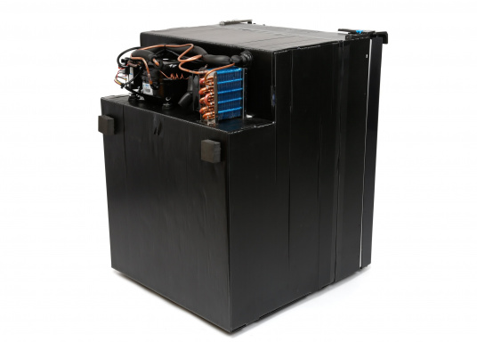 Innovative Compressor Refrigerator CRE-80 from DOMETIC. 2-in-1 solution with removable freezing compartment, which allows for more space if needed. Smart electronics control the speed of the compressor; as a result, energy consumption can be reduced by 25%.   (Afbeelding 5 of 9)
