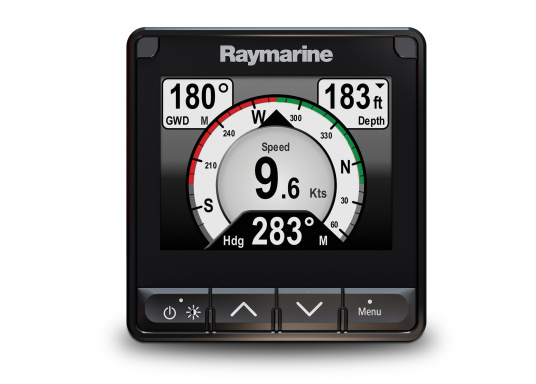The stylish Raymarine i70s Multifunction Display (MFD) is made for you - whether your passion is sailing, motorboating or fishing. It offers powerful features and is easy to use. (Image 6 of 15)