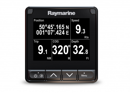 The stylish Raymarine i70s Multifunction Display (MFD) is made for you - whether your passion is sailing, motorboating or fishing. It offers powerful features and is easy to use. (Image 4 of 15)