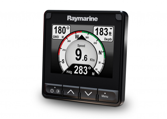 The stylish Raymarine i70s Multifunction Display (MFD) is made for you - whether your passion is sailing, motorboating or fishing. It offers powerful features and is easy to use. (Image 5 of 15)