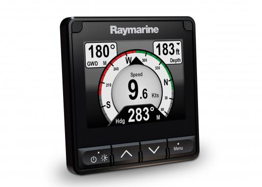 The stylish Raymarine i70s Multifunction Display (MFD) is made for you - whether your passion is sailing, motorboating or fishing. It offers powerful features and is easy to use. (Image 2 of 15)