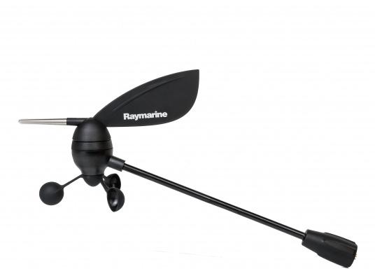 Il trasduttore vento Raymarine fornisce dati affidabili e precisi sulla direzione e sulla velocità del vento. (Immagine 2 di 5)