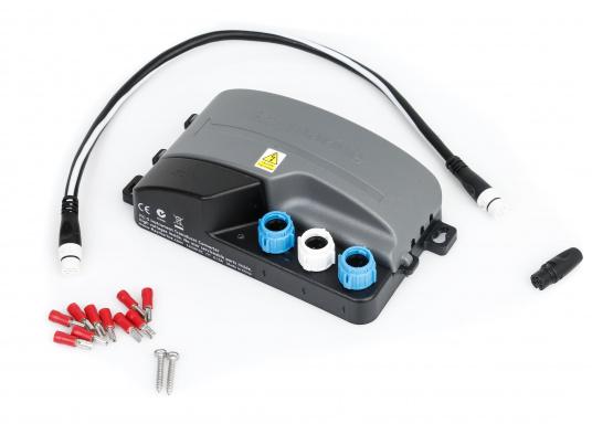 Der Raymarine iTC-5 konvertiert die Signale analoger Gebervon ST60+, i70, ST70+ und ST70 Instrumenten-Systemen auf SeaTalkng. (Bild 6 von 7)