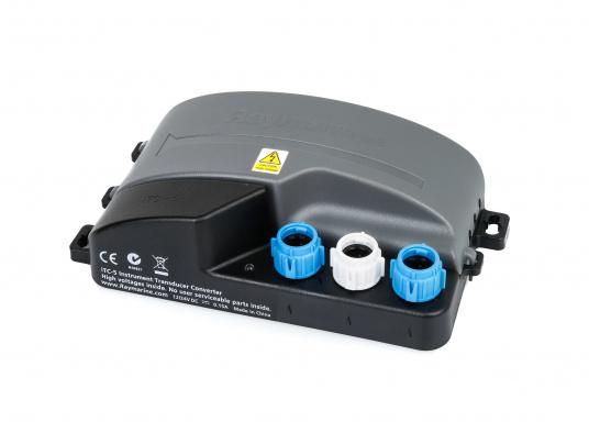 Der Raymarine iTC-5 konvertiert die Signale analoger Gebervon ST60+, i70, ST70+ und ST70 Instrumenten-Systemen auf SeaTalkng.