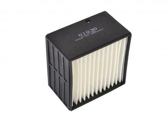 Originaler Ersatzfilter für den Dieselfilter SEPAR SWK 2000 / 10. Die Abmessungen betragen 88 x 88 x 55 mm.