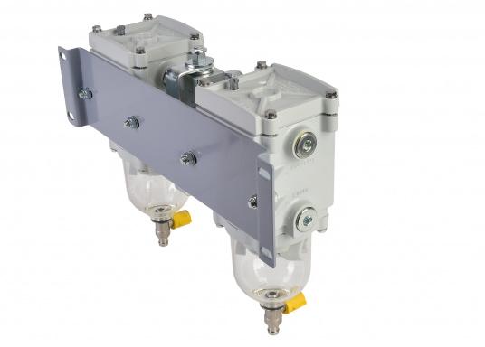 Der SEPAR SWK 2000 ist ein Wasserabscheider und Filter für leichte Dieselkraftstoffe, GL-, Lloyds-, RINA-, TÜV-geprüft. Lieferbar in verschiedenen Ausführungen. (Bild 3 von 3)